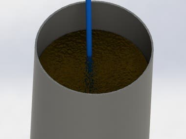 3D Model - A cup of water