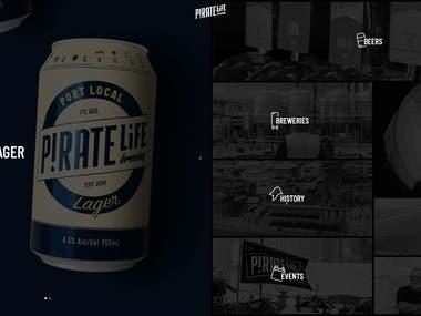 PirateLife Brewing Website