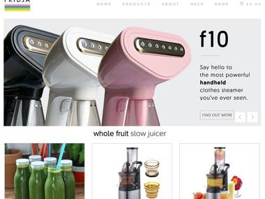 WooCommerce and PHP based Online Home Tech Store in London