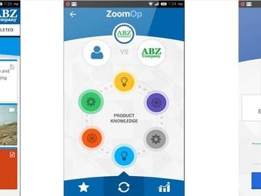 Zoom Mobile app and web application development.