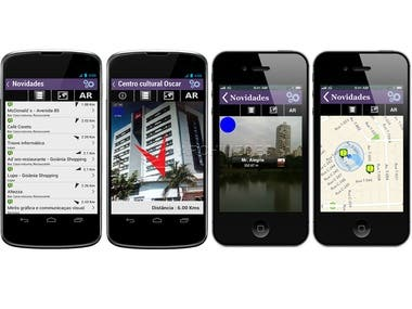 Oigoiania Augmented Reality Apps