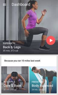 Fitness App Developed on iOS & Android for San Francisco