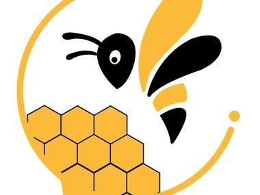 Bee Illustrator Logo.