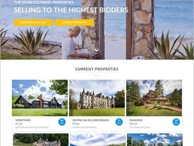 NodeJS in PHP Development for Online Real Estate Auctions Ne