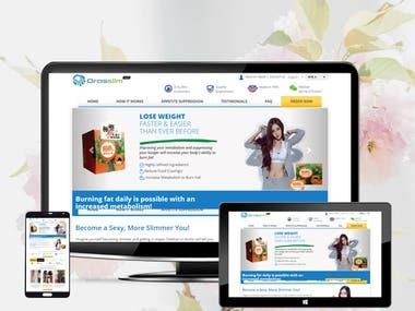 Custom Word Press Woocommerce Website