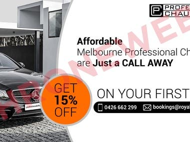 PROFESSIONAL CAB SERVICES | Logo | Banner | Wordpress