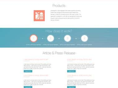 Ezntpay website template design vol 1