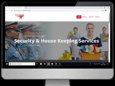 topstarservices.in beautiful static website