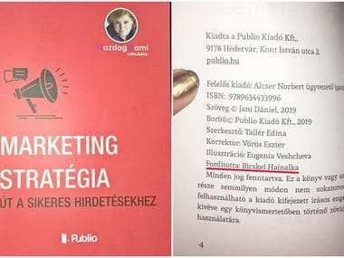 Translation of a marketing book