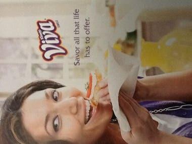 Project Management : VIVA Print Advertisement