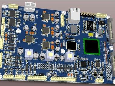 10GBit High Speed Ethernet FPGA Board