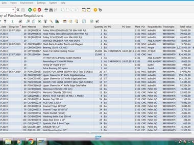 DATA ENTRY IN SAP MM,PP,PM MODULE