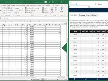 Excel VBA - Web Scrapping