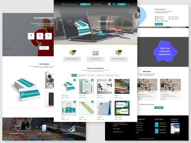 Kedai Prints Web design and Development project