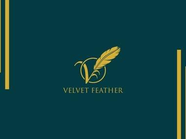 Velvet feather logo