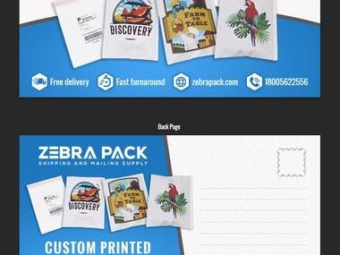 Design a Direct Mail Postcard