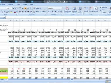 Excel Calculation