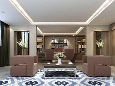 Interior Designing ... 3D rendering