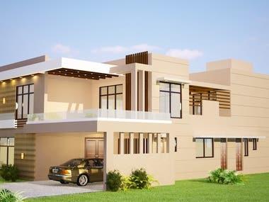 Exterior Design ... 3D Rendering