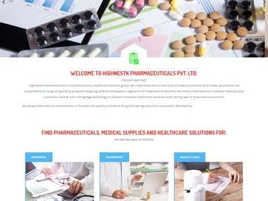 HK- Pharmaceuticals is a patient centric healthcare.