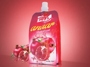 Juice Packaging Pouch