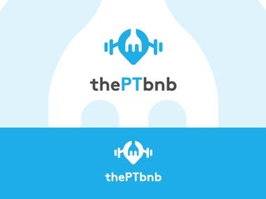 Logo For a Mobile app thePTbnb
