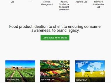 website for WorldFoodConnection