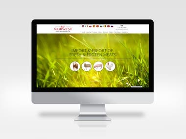 Norwest   Food Import and Export Website