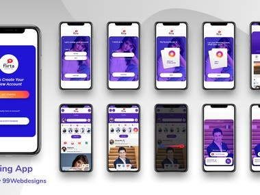 Dating Mobile App Design