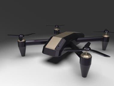 quad drone design