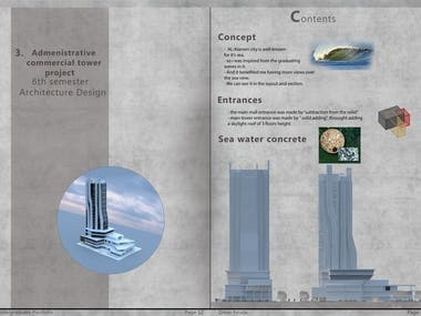 Administrative - Commercial tower project
