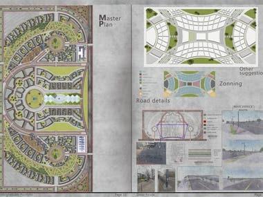 Urban design project.