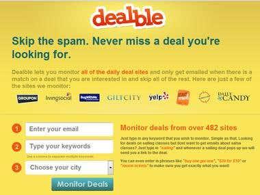 Dealble: Complete Web Solution
