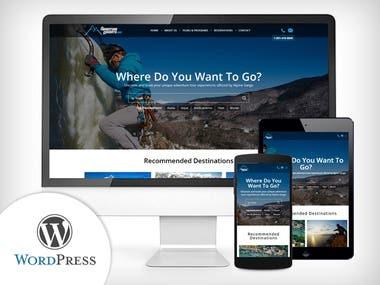 WordPress - Adventure Tours Website