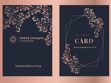 BANNER AND GREETING CARDS