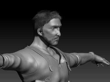 Realistic human character models