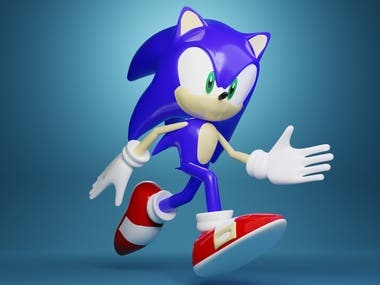 Sonic Game Character