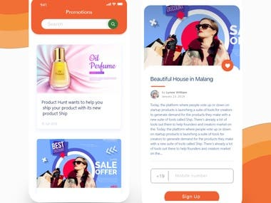 App promotional ads