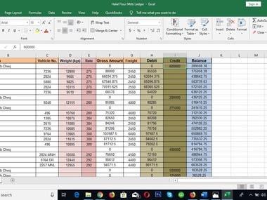 Data Entry - XL