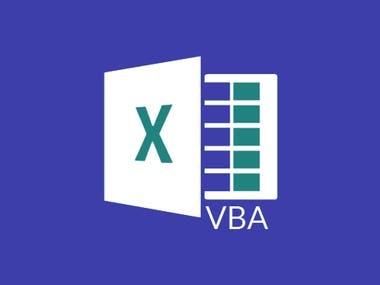 Excel VBA Development