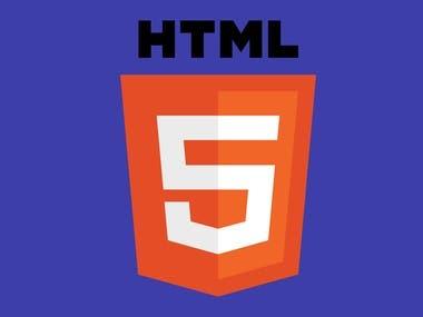 HTML & HTML5 Development