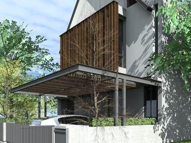 PRIVATE HOUSE AT BINTARO, JAKARTA, INDONESIA
