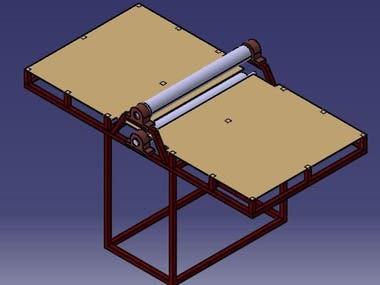 Design & manufacturing Roller Press