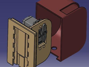 Design and manufacture a Blind Engine