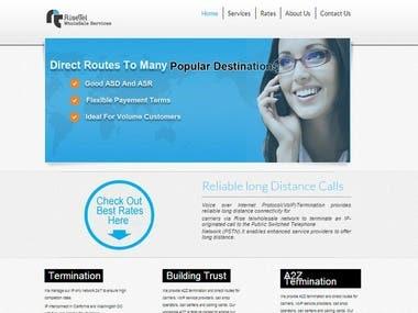 Company Website in Joomla