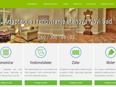 Adaptation and renovation of apartments