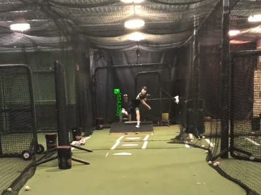Baseball tracking and speed calculation system