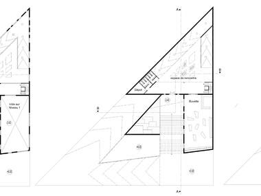 2D Architectural Drawing