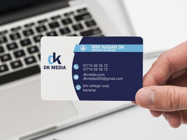 Business card/Visiting card Design one part