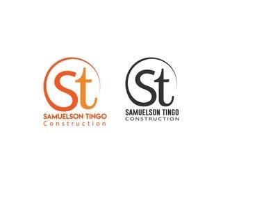 Construction letter logo DESIGN.